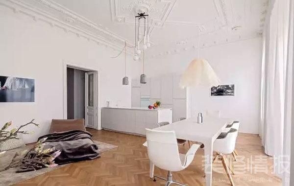 纯白色公寓装修效果图欣赏,装饰优雅考究!5.jpg