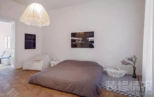 纯白色公寓装修效果图欣赏,装饰优雅考究!6.jpg