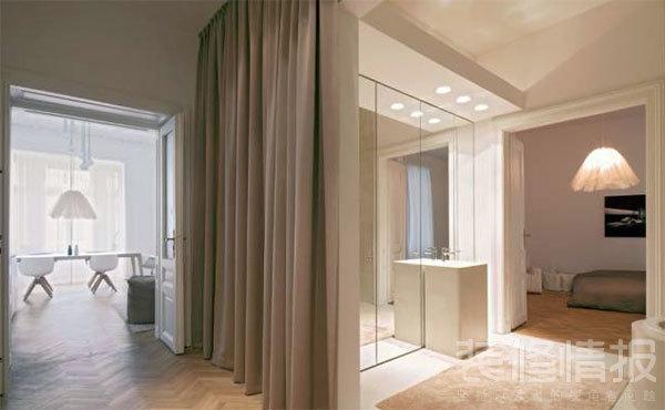 纯白色公寓装修效果图欣赏,装饰优雅考究!7.jpg