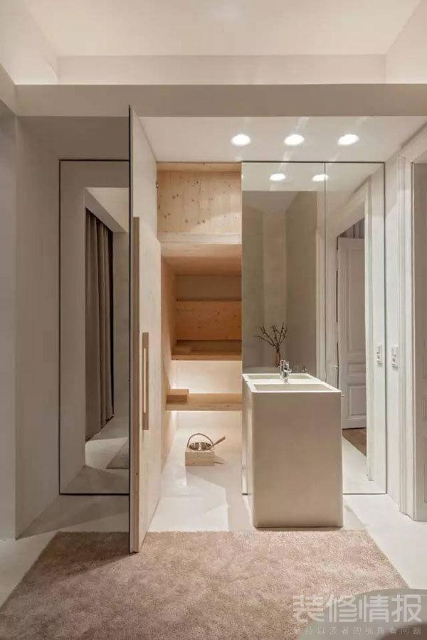 纯白色公寓装修效果图欣赏,装饰优雅考究!10.jpg