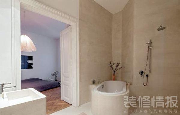 纯白色公寓装修效果图欣赏,装饰优雅考究!11.jpg