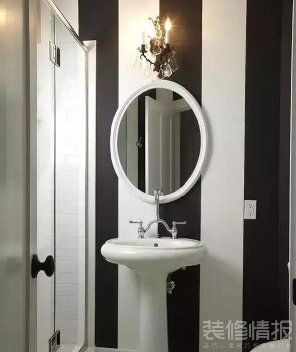 卫生间腰线怎么贴