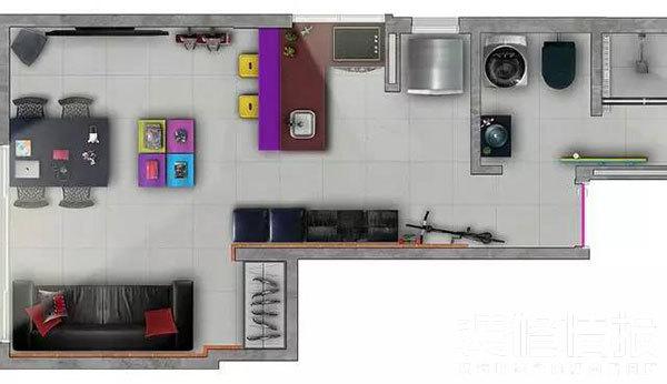 50㎡旧房改造案例10.jpg