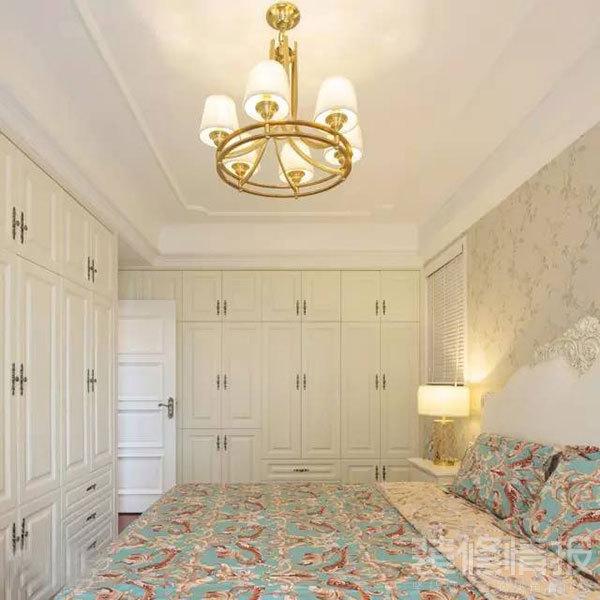 现代美式混搭风格婚房装修效果图6.jpg